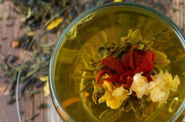 Blomstrende te